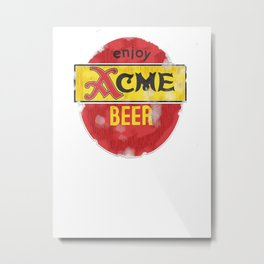 My Beer Metal Print