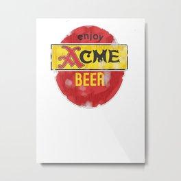 My Beer Metal Print