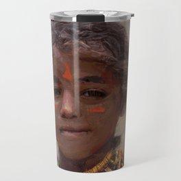 Strong Girl Travel Mug