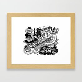 Cookies Machine Framed Art Print
