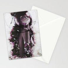 The coming from earth Stationery Cards