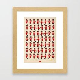 RUSSIAN DANCE Framed Art Print