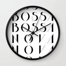 Bossa Nova 1 Wall Clock