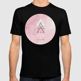 Dusty Pink Lineup T-shirt