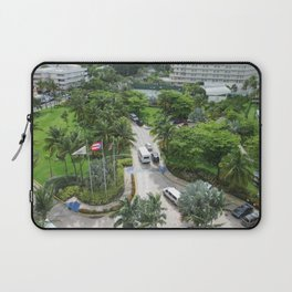 Caribe Hilton grounds, San Juan, Puerto Rico, before Maria Laptop Sleeve