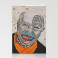 dad Stationery Cards featuring dad by ferzan aktas