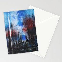 Night Scape Stationery Cards