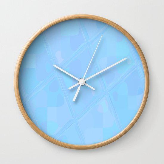 Re-Created Mirrored SQ XCIII by Robert S. Lee Wall Clock