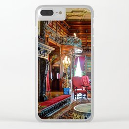 Biltmore Library Clear iPhone Case