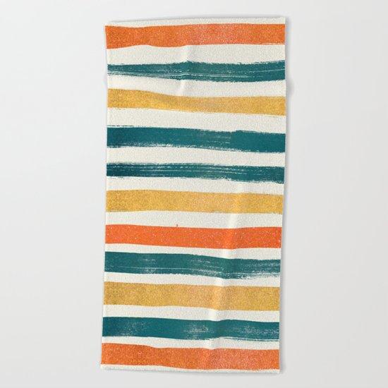 Into The Ocean Beach Towel