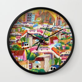 La Finikera (Phoenix) Wall Clock