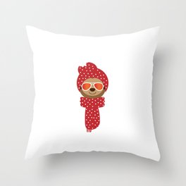 Stay Cool It's Christmas Merry Christmas Design For December 25th T-shirt Design Jesus Birthday Throw Pillow