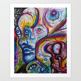 Colorscapes 1 Art Print
