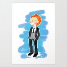 Tom Hiddleston - Ehehehe! Art Print