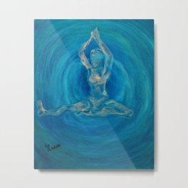 Mahamurda Yoga Metal Print