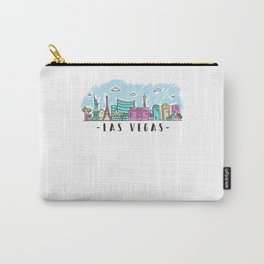 Las Vegas Nevada State Skyline Carry-All Pouch