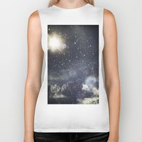 starry night Biker Tanks featuring Starry Night  by Jane Lacey Smith