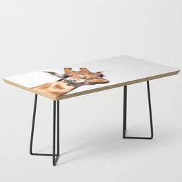 Giraffe portrait Coffee Table