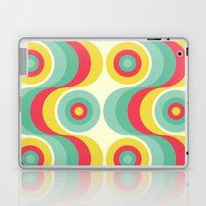 Retro Circles Laptop & iPad Skin