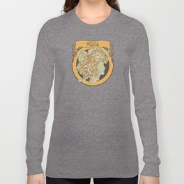 medusa silhouette (light) Long Sleeve T-shirt