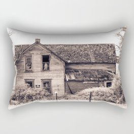 Skeleton In The Haunted House, Idaho Rectangular Pillow