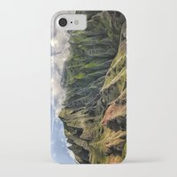 spires iPhone & iPod Cases featuring Na' Pali Spires, Kauai, Hawaii  by Elliott's Location Photography