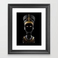 Nefertiti AD (revisited) Framed Art Print