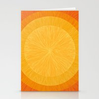 pulp Stationery Cards featuring Pulp Saffron by Anchobee
