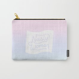 Nasty Woman Rainbow Flag Carry-All Pouch