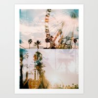 coachella Art Prints featuring Coachella by Tosha Lobsinger is my Photographer