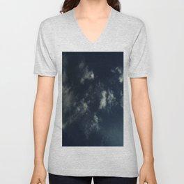 Cloud and sky 14 -cloud, sky, blue, positive,optimism Unisex V-Neck