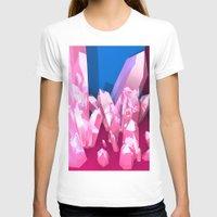 crystals T-shirts featuring Crystals by Katrina Zenshin