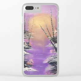 Warmest of Winters Clear iPhone Case