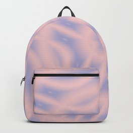 Spacial Coordinates in Rose Quartz and Serenity Backpack