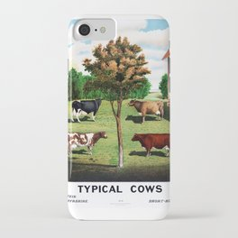 Typical Cows iPhone Case