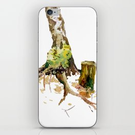 Forest atmosphere iPhone Skin