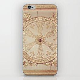 Gold Circle iPhone Skin