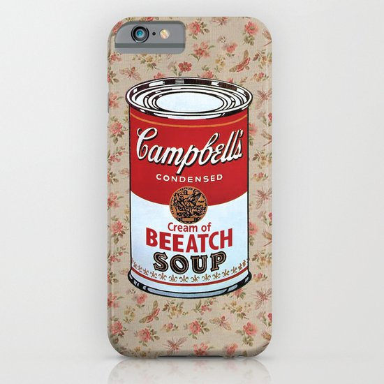 soup iPhone & iPod Case