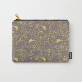 Simply June Yellow Carry-All Pouch