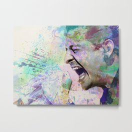 Chester Bennington Metal Print