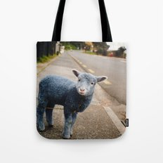 Blue? Sheep? Tote Bag