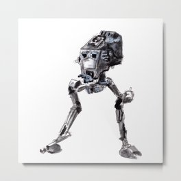 AT-ST Walker Metal Print