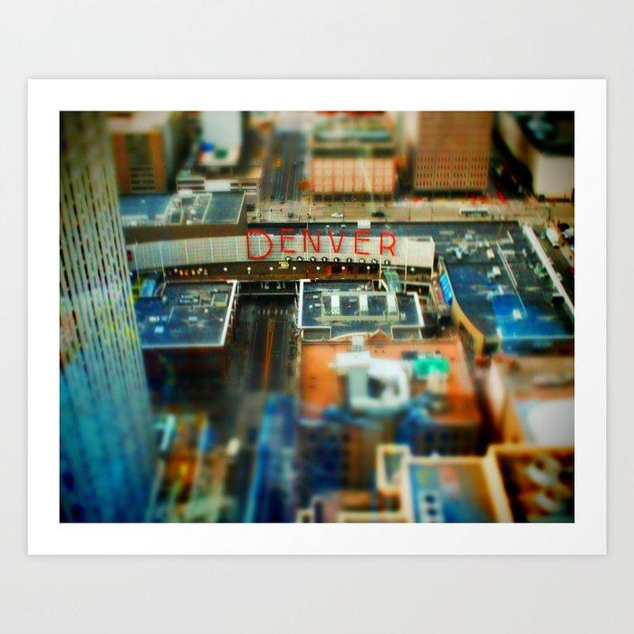 Denver Pavilions Art Print