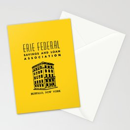 Erie Federal Savings & Loan Stationery Cards