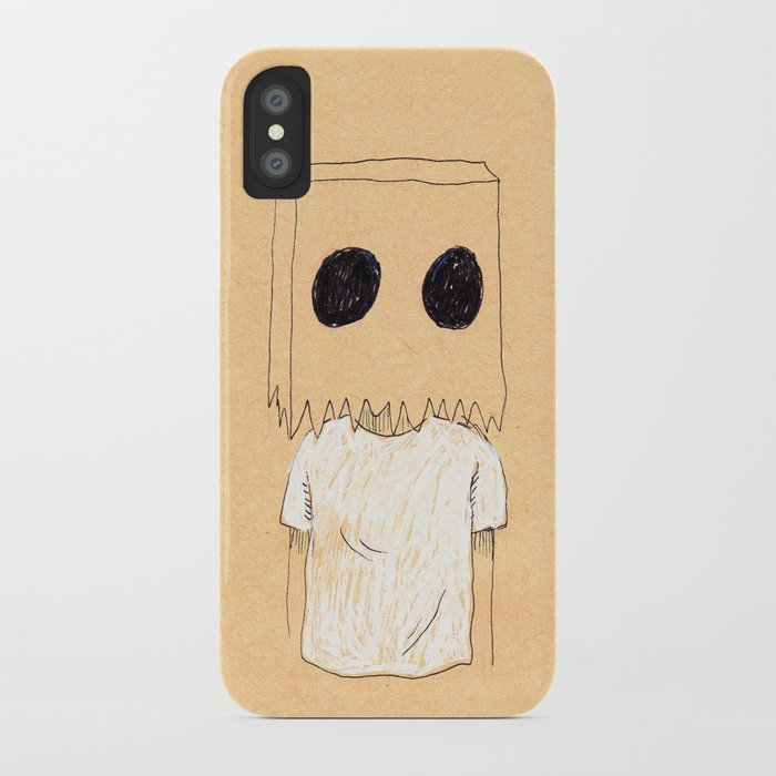 Paper Bag Boy iPhone Case
