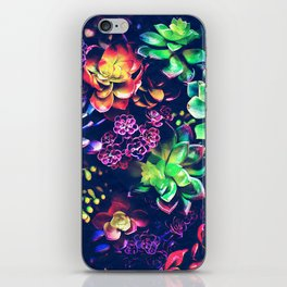 Colorful Plants iPhone Skin