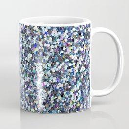 Blue Glitter Coffee Mug