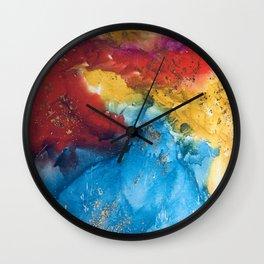 Boho bash Wall Clock