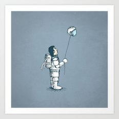 space balloon Art Print