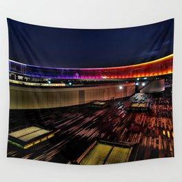 Aros Aarhus, Denmark, Your rainbow panorama Wall Tapestry